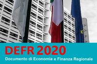 La Giunta approva il Documento di Economia e Finanza Regionale 2020
