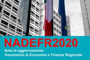 Nota di Aggiornamento del Documento di Economia e Finanza regionale 2020