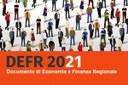 La Giunta approva il Documento di Economia e Finanza Regionale 2021